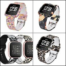 Bands for Fitbit Versa/Versa 2/Versa Lite Silicone Straps with Protective Case