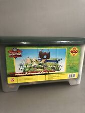 ELITE OPERATIONS Ultimate Military Playset Action Figures with Container