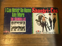 Shangri-Las 2 LP Lot - Leader of the Pack & I Can Never Go Home Anymore OG