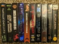 Vintage Horror & SciFi VHS LOT   10 Movies   Tested & Working   Wishmaster