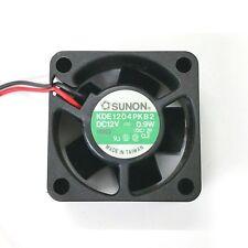 NEW Sunon KDE1204PKB2 40mm x 40mm x 20mm 12V DC Brushless Cooling Fan 0.9W