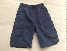 Gap Boys Blue Shorts Size M Cotton Pull Up