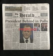 Designated Survivor: Herald Kirkman Newspaper  (TV,Screen Used,Original,COA)