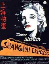 Shanghai Express 06 Film A3 Poster Print Poster