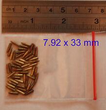 "1:6 FIGURE 12"" WW2 GERMAN Bullet 7,92 x 33 Ammo 50 pc Custom made accessories"