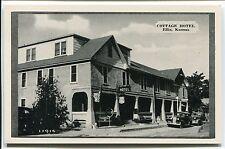 ELLIS, KS VINTAGE POSTCARD Cottage Hotel