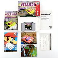 San Francisco Rush Extreme Racing (Nintendo 64, 1997) Authentic Complete Tested