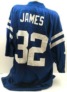 Indianapolis Colts Men's Jersey Edgerrin James #32 Reebok NFL Football Size XL