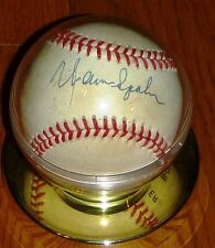 BOSTON MILWAUKEE BRAVES Warren Spahn AUTOGRAPHED SIGNED BART GIAMATTI BASEBALL