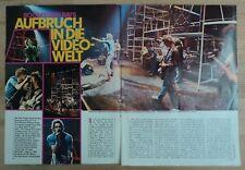 BOOMTOWN RATS  -  Clipping/Bericht aus dem Jahr 1979 - Musikzeitschrift