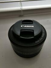 Canon EF-M 22 mm f/2 STM Lens
