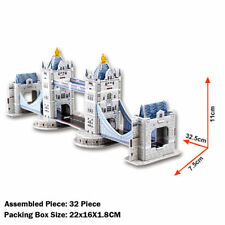 New 3D Model Puzzle Of Tower Bridge In London, Perfect Christmas Present Gift