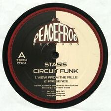 "Stasis – Circuit Funk NEW Peacefrog PF013 VINYL 12"" TECHNO"