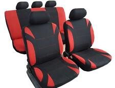 New 11PCS Combo Polyester Car Seat Covers Universal Size For Holden Mazda Toyota