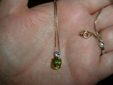 ROSS SIMONS PERIDOT AND IOLITE BEAUTIFUL 18 INCH NECKLACE SALE!