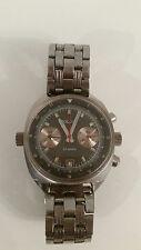 Poljot Chronograph 3133 Wrist Watch Men polet okean dial soviet ussr rare russia