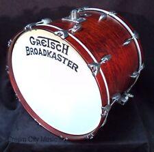 "Gretsch USA NOS Broadkaster 16 x 22 Bass Drum Satin Walnut Lacquer 22"""