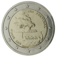 2 Euro Portugal 2015 - Timor - Rare - Low mintage commemorative coin only 500k