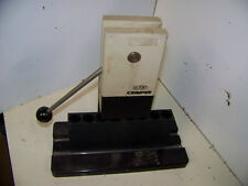 Bench Top Vial Crimper Dupont Sorvall with Holders