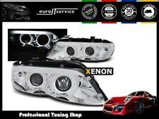 NEUF FEUX AVANT PHARES LPBMC2 BMW X5 E53 2003 2004 2005 2006 CHROME XENON
