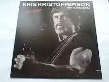 Kris Kristofferson & the Borderlords - Repossessed signed / autographed vinly LP