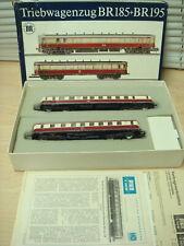 Piko Oo/Ho East German Triebwagenzug Commuter Rail Motorized 2Car Set Ob Vg+Deal