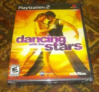 ABC Dancing with the Stars PS2 New Sealed Playstation 2 Game Activision