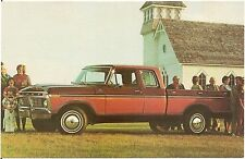 1977 Ford F-150 Supercab Pickup Truck Automobile Advertising Postcard