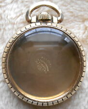 10Kgf Star Case, Excellent Condition Hamilton Pocket Watch Size 16