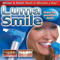 Luma Smile Whiten & Polish Teeth - Dental Teeth Whitening - As Seen On TV