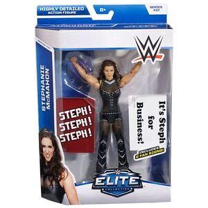 WWE STEPHANIE MCMAHON ELITE COLLECTION SERIES 37 MATTEL ACTION FIGURE RARE