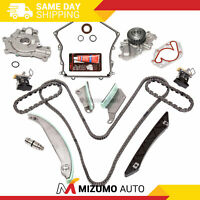Timing Chain Kit Cover Gasket Water Pump Oil Pump Fit 09-10 Dodge Chrysler 2.7