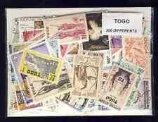 Togo 200 francobolli diversi