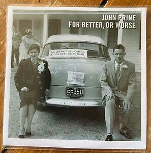 John Prine - For Better, Or Worse UK 15 Track PROMO CD 2016