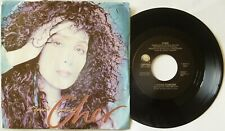 "CHER I Found Someone 7"" VINYL USA Issue"