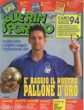 GUERIN SPORTIVO=N°51/52 (976)1993=BAGGIO COVER=FILM DEL CAMPIONATO=NO ALLEGATI
