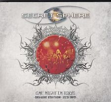 SECRET SPHERE ONE NIGHT IN TOKYO DELUXE EDITION 2CD/DVD