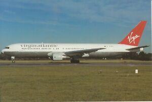 VIRGIN ATLANTIC (UK) - BOEING 767-31AER - PH-MCG - 10/1996 - MAN - POSTCARD NEW