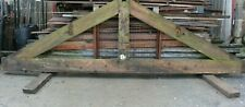 Wooden Timber Roof Truss Substantial Frame Garage Shed Out Building Lean To