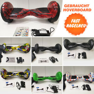 10 Zoll Bluetooth Hoverboard Elektro Self Balance Scooter 2 Räder Overboard