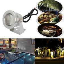 New 12V 10W LED Waterproof Spot Light 1000LM Pure White Landscape Pond Light
