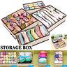Underwear Bra Socks Ties Drawer Storage Organizer Boxes Closet Divider Tidy