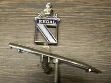 1974 Buick Regal radiador personaje/Stand Up Hood emblema/Hood ornament, Rare + nuevo/New-nos