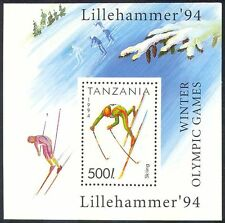 Tanzania 1994 Sports/Winter Olympic Games/Skiing/Olympics 1v m/s (n39887)
