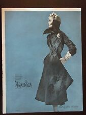 1950 Hollander's Midnite Blue Russian Broadtail by Maximillion NY Advertisement
