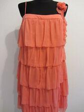 Apart vestido cóctel 46*xl nuevo de noche vestido de fiesta vestido retro-Schick coral