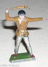 Figurine peinte M.C. CAIFFA 1964 : PHILIPPE de CRAON  SERIE TV THIERRY LA FRONDE