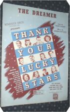 "THE DREAMER Loesser Schwartz  ""Thank Your Lucky Stars"""