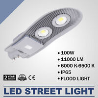 100W LED Street Road Outdoor Yard Flood Light Local Industrial Lamp 110LM/W Hot