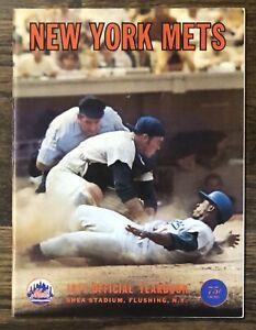 New York Mets Yearbook 1971 Seaver Koosman Jones Agee Harrelson Kranepool McGraw